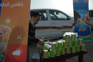 Stand Noodle Cup Indomie di Damam  Cup 2013