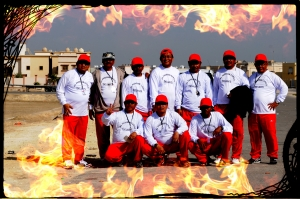 Panitia Dammam Cup on fire