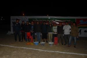 Kerja hingga dini hari Panitia Dammam Cup 2013