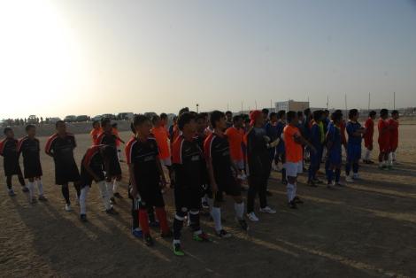 Kesebelasan yang berlaga pada perempat final Dammam Cup 2013