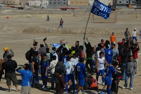 Menang: Dukungan penonton & permainan cantik Rosdiyah meloloskan ke final Dammam Cup 2013