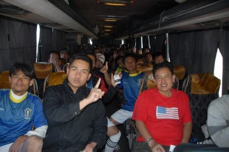 Rosdiah FC: Kekuatan bus besar