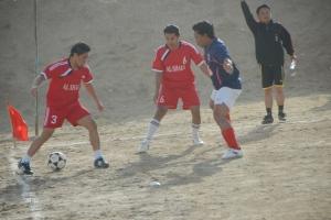 Bhineka (merah) telan pil pahit lewat adu penalti 1-3